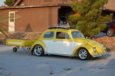 How fun is this?! 1955 VW Beetle Show Car For Sale at Oldbug.com