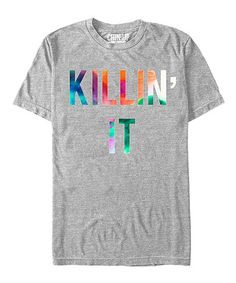 Loving this Athletic Heather 'Killing It' Tee - Unisex on #zulily! #zulilyfinds