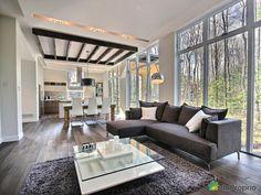 Maison neuve à vendre Blainville, 137, rue du Nivolet, immobilier Québec | DuProprio | 559554 Divider, Parents, Couch, House Styles, Room, Furniture, Home Decor, Ideas, Home Decoration