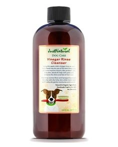 Dog Vinegar Rinse Cleanser