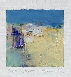 Sep. 11 2017  Original Abstract Oil Painting  9x9 painting