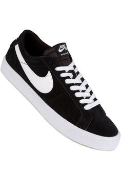 Nike SB Zoom Blazer Low Schoen (black white)