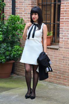 Dress: http://es.shein.com/White-Bow-Tie-Neck-Frayed-Trim-Tweed-Dress-p-320530-cat-1727.html?utm_source=baulderaquel.blogspot.com.es&utm_medium=blogger&url_from=baulderaquel