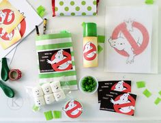 Afraid of monsters theme night Ghostbusters Birthday Party, Ghostbusters Theme, Baby Girl Birthday, Birthday Fun, Birthday Party Themes, Picnic Pops, Thomas Birthday Parties, Man Party, Party Planning