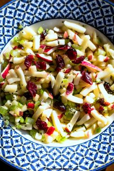Grain Crazy: Healthy Apple Cherry Salad with Chia.Great way to enjoy apples.