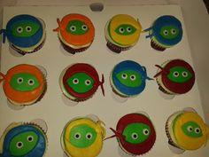 Cupcakes tortugas Ninja