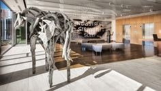 The Art Hotel in Denver Greets Guests with a Leo Villareal Light Installation #traveling
