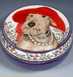 """""""Junie b,"""" Airedale Terrier, by Nan Hamilton"""