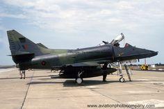 RNZAF 75 Squadron Douglas A-4K NZ6218 (1991)