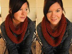 Crochet Infinity Sca