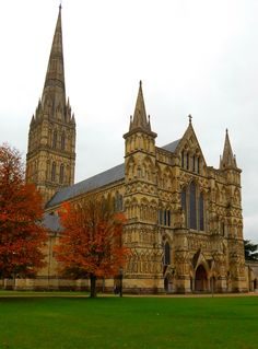 Salisbury Cathedral, Salisbury, Wiltshire, England, UK -The Tallest cathedral/church in Britain — FUCKITANDMOVETOBRITAIN