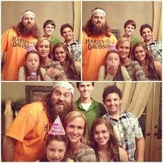 Willie, Korie, & their kids