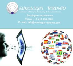 """We """"Eurologos-Toronto"""" provides best #Technical and #Manual Translation in Toronto. Our services many major languages including English, French, Spanish and many more. Please visit our website www.Eurologos-toronto.com"""