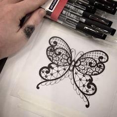 tatuagens femininas rendadas - Pesquisa Google