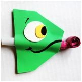 How To Make Tangled Party Blowers 4