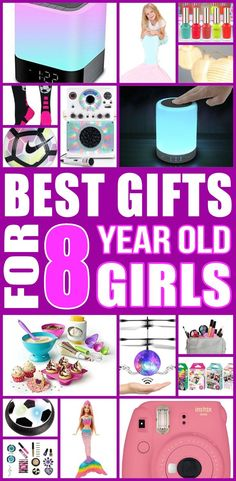 Top gifts for 8 year old girls! Any girl would love a gift from this ultimate gift guide. Find the best toys and non toy gifts perfect for kids birthdays, Christmas and more. Creative, Unique educational ideas parents and moms would love if their children received. Awesome and fun learning perfect for eight year old girl play. Lets get shopping with this gift list!