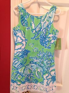 Lilly Pulitzer Girls Dress Size 7 NWT #LillyPulitzer