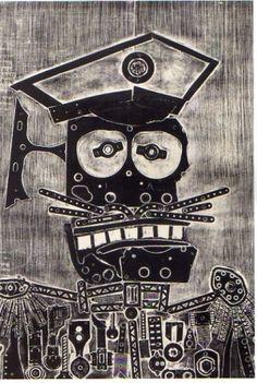 Coronel amigo de Ramona, 1964: Obra de Antonio Berni
