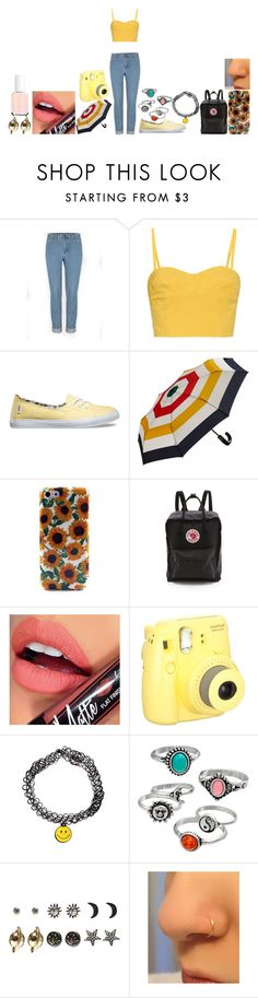 """""""Untitled #407"""" by music-of-the-worlds on Polyvore featuring Tomas Maier, Vans, Hudson's Bay Company, Fjällräven, Fiebiger, Mudd, Wet Seal and Essie"""