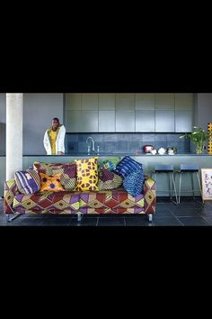 African home decor! Love it!