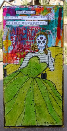 Made by Nicole: Dia de los Muertos Catrina Collage