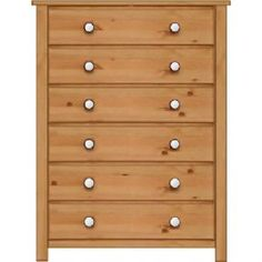 Manhattan Shaker 6 Drawer Wide Chest