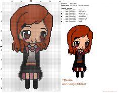 Ginny Weasley patrón punto de cruz (click to view)