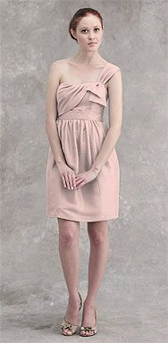 Jenny Yoo, Style: Cacey, Material: Eastern Silk Shantung, Color: Blush