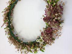 Floral crown by Living Fresh http://livingfresh.ca