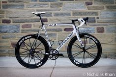 Cannondale SuperSix Evo. Built up with SRAM Red, Cannondale SiSL crankset and MadFiber wheels