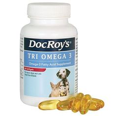 Doc Roy's Tri Omega 3 Small Breed 60ct *** You can find more details by visiting the image link. (This is an affiliate link and I receive a commission for the sales)