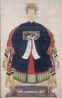 Chinese Ancestor Portrait (woman) More At FOSTERGINGER @ Pinterest
