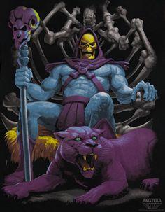 Skeletor from Hee-man