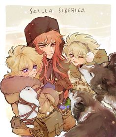 Isaac, Hyoga and Camus
