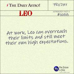 Leo Daily Astro!: Your free astrology birth chart is waiting for you.  Visit iFate.com today!