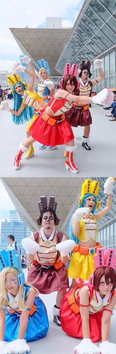 Cosplay (コスプレ kosupure), a portmanteau of the words costume play, is a performance art in which participants called cosplayers wear costumes a. Epic Cosplay, Cosplay Diy, Cute Cosplay, Cosplay Makeup, Amazing Cosplay, Cosplay Outfits, Cosplay Costumes, Cosplay Ideas, My Hero Academia Memes