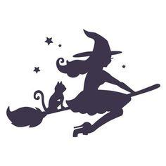 Silhouette Design Store - View Design #155557: witch