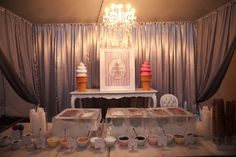 This couple treated their 400 guests to a taste of the finer things in life with a celebration filled with edible delights.