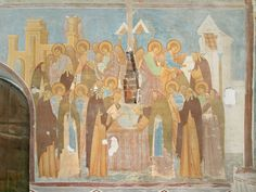 Dionisius, Eulogy's Vision, The Virgin Nativity Cathedral, Ferapontov Monastery