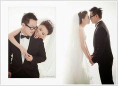 ★日出婚紗,左方白色底照片適合用灰框