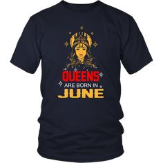 Queens Are Born In April Birthday T Shirt funny Women Tee Born In April, July Born, June, October Birthday, Girl Birthday, Queens, T Shirts For Women, Mens Tops, Stuff To Buy