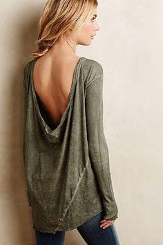 Para el suéter de rayas
