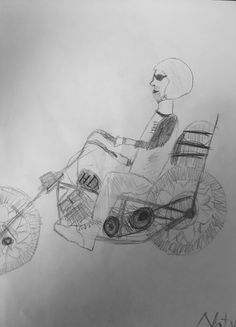 shovelhead by my 11 years old sister-in-law