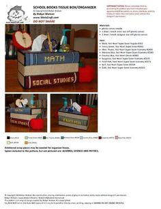 School books tbc and organizer
