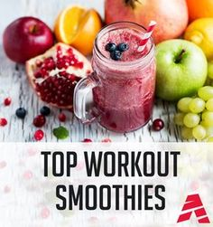 healthy smoothie recipes, nutritious smoothies, nutrition ideas for pre workout and post workout energy smoothies for performance and protein smoothies!