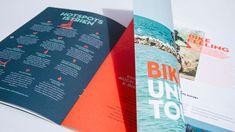 ✨ Die Visit HotSpots-Broschüre für E-Bike-Touren durch Istrien besticht durch unterschiedliche Formate in einem Magazin! 💎 #nicetomoveyou #print #printdesign #editorialdesign #grafikdesign #visithotspots #branding #travelagency #agency #agencylife #werbeagentur Editorial Design, Grafik Design, Brochure Design, Cover, Projects, Behance, Search, Gallery, Advertising Agency