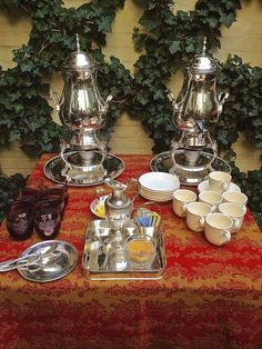 We also have early coffee and tea station located in the lobby by the fireplace. For those who get up early we also have a breakfast buffet.