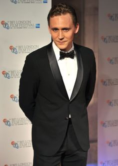 Cele|bitchy | Tom Hiddleston, lovely & dashing in a tuxedo in London: would you hit it?