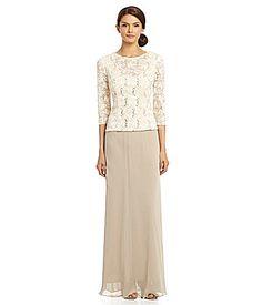 Tadashi Shoji Gown - Waist Tie Sequin Lace | Bloomingdale's | My ...