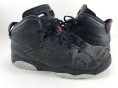 size 40 ac8e4 b29ae Nike Air Jordan 6 Retro GP Anthracite Black Pink 543389 008 Size 2.5Y   fashion  clothing  shoes  accessories  kidsclothingshoesaccs  unisexshoes ( ebay link)